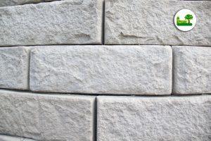 ReCon Stützwandsystem. Die einzelnen Steine in der Detailansicht.